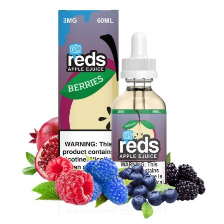LÍQUIDO REDS APPLE EJUICE BERRIES - ICED