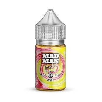 LÍQUIDO LEMON STRAWBERRY - SALT ICE MAD MAN
