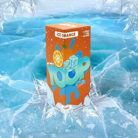LÍQUIDO ICE ORANGE NIC SALT - YOOP