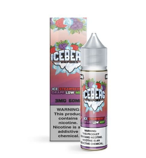 Strawberry Grape Low Mint - Iceberg - 100ml