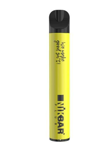 Pod Descartável - Lemon Grass - 5% - Plus - 600 Puff - NikBar