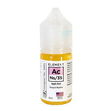 Líquido NicSalt Apple Acai- Element - 30ml