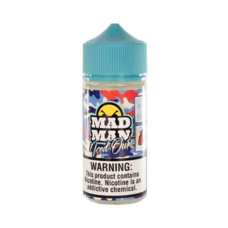 Crazy Raspberry Ice - Iced Out - Mad Man - 100ml