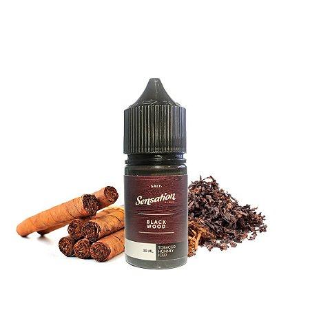 Líquido Salt Nicotine - Sensation - Black Wood - Nic Salt - 30ml