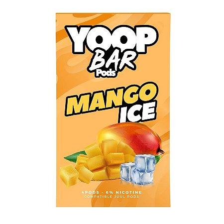 Pod Refil Yoop - 4 refil - Mango Ice - 5%