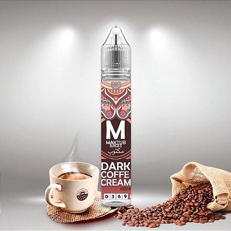 Juice Dark Coffe Cream – 60 ml - Maktub