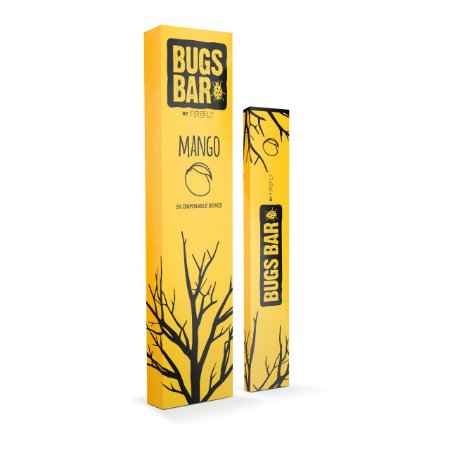 Pod Descartável – Mango – 300 Puff – Bugs Bar By Firefly