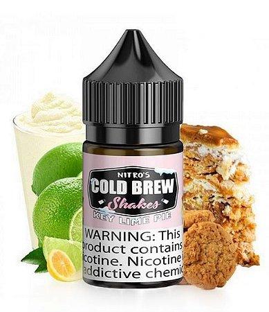 Líquido Salt Nicotine - Nitro's Cold Brew - Shakes - Key Lime Pie - 30ml