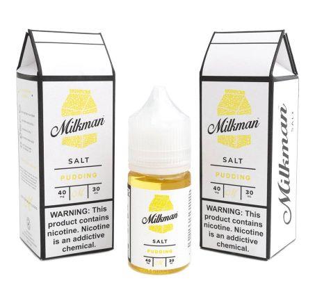 Líquido Salt Nicotine - Pudding - The Milkman SaltNic - 30ml