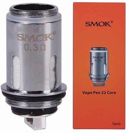 Bobina Reposição - Vape Pen 22 Core - 0.3 - Smok