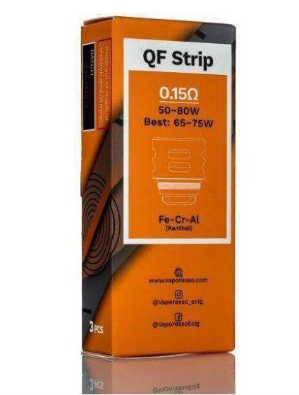 Bobina Coil QF Strip p/ SKRR - LUXE - VAPORESSO