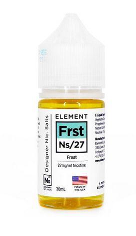 Líquido NicSalt Frost  - Element - 30ml