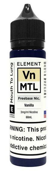 Vanilla - MTL - Element - 60ML