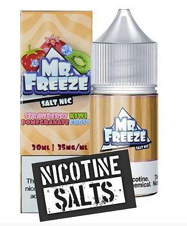 Líquido Salt Nicotine - Strawberry Kiwi Pomegranate Frost - MR. Freeze - 30ml