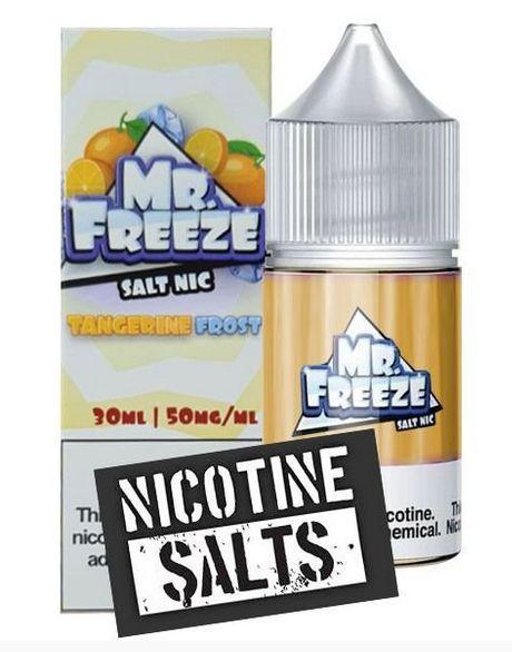 Líquido Salt Nicotine - Tangerine Frost - MR. Freeze - 30ml
