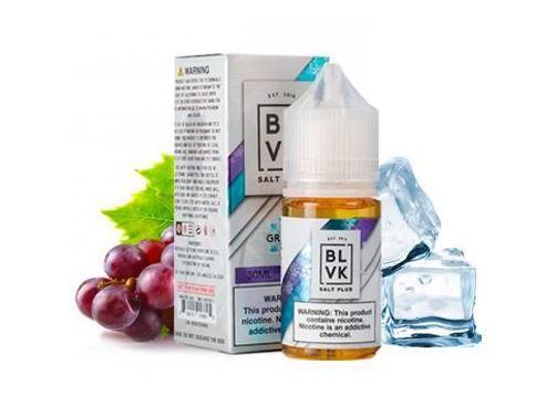 Líquido Salt Nicotine - BLVK Salt Plus - Grape Ice - Nic Salt - 30ml