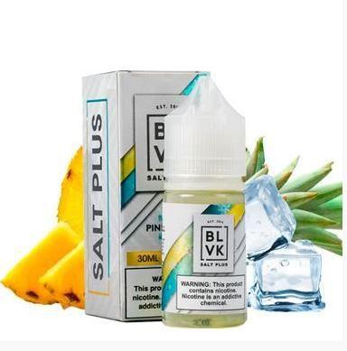 Líquido Salt Nicotine - BLVK Salt Plus - Pineapple Ice - Nic Salt - 30ml
