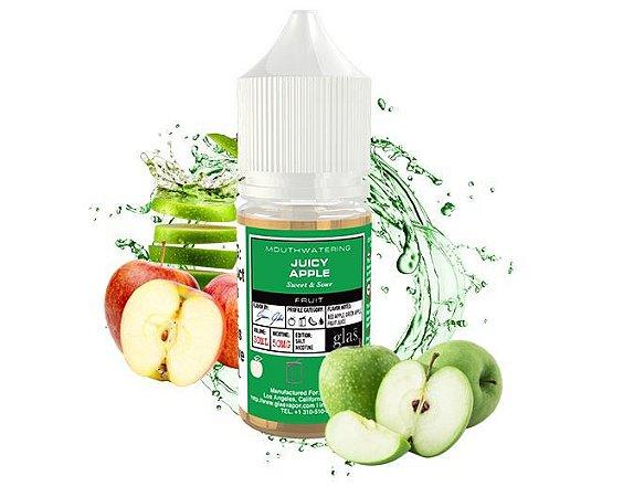 Líquido Nicotine Salt - GLAS BSX Salt - Juicy Apple - 30ml