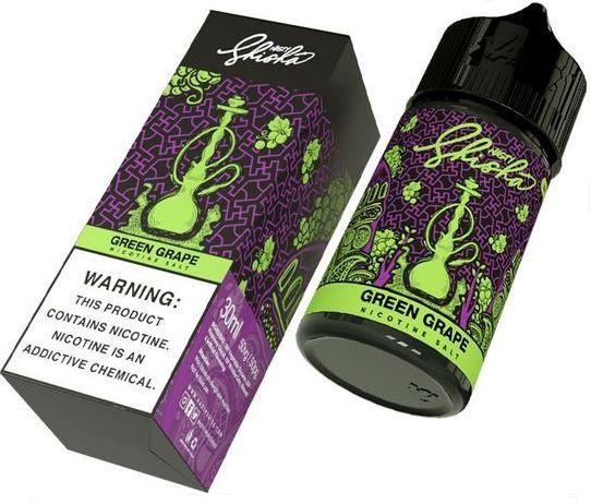 Líquido Green Grape - Shisha - Nasty Salt - 30ml