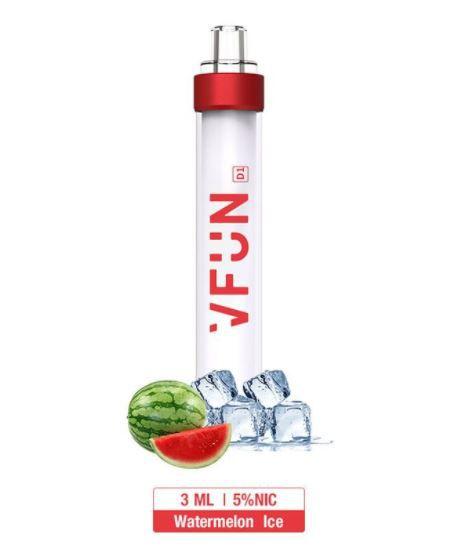 Pod Descartável - VFUN - Led Flash Edition - Watermelon Ice - 1000 Puff - QUAWINS