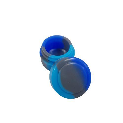 Slick Silicone Pequeno - Azul e Cinza