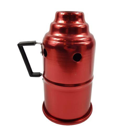 Abafador p/ narguile - Vermelho
