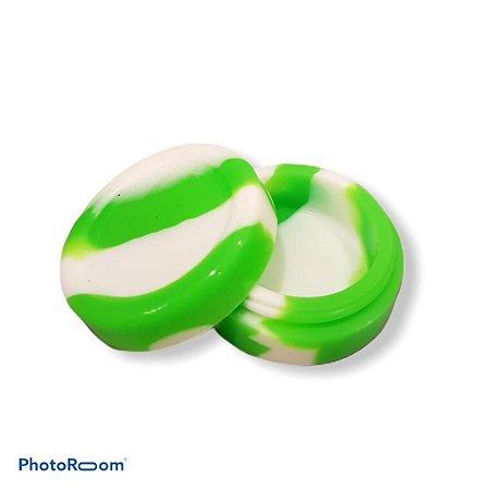 Slick Silicone Grande - Branco/Verde