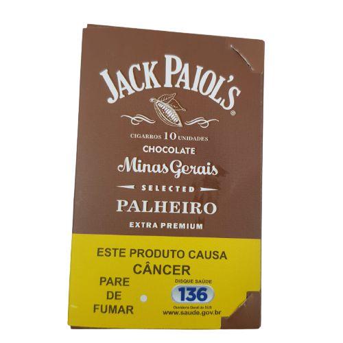 Palheiro Jack Paiols Chocolate - 10 Unidades