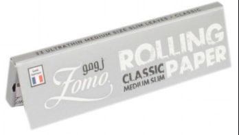 Seda Zomo Rolling Paper 76mm - 33 Unidades