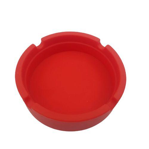 Cinzeiro Silicone - Vermelho