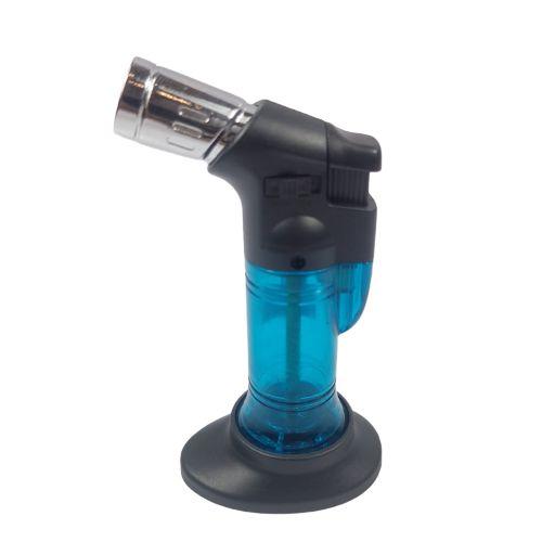 Maçarico Lighter Recarregavel Sem Gás - Azul