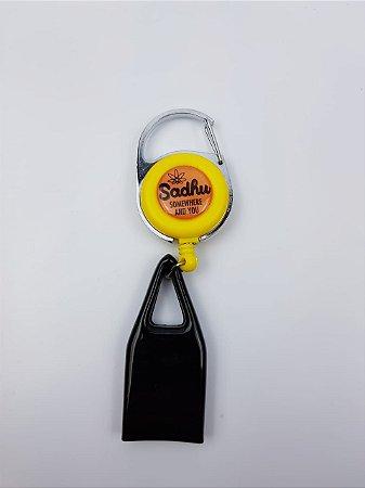 Porta Isqueiro - Amarelo