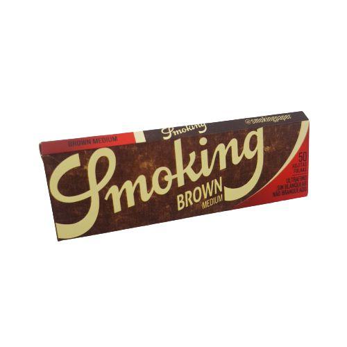 Seda Smoking Brown Medium - 50Folhas