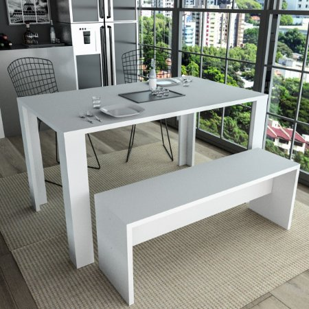 Mesa de Jantar Liv Appunto Branco
