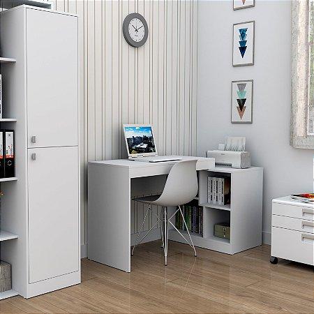 Escrivaninha E Mesa Para Computador Moove Appunto Branco