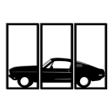 Quadro Mustang Coupè Segmentado (Linha Autos)