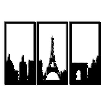 Quadro Paris Segmentado (Linha City)
