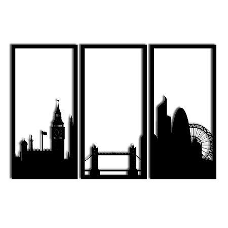Quadro Londres Segmentado (Linha City)