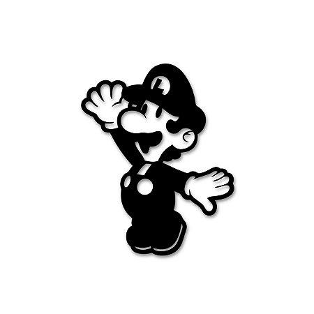 Luigi - Quadro Linha Old Geek