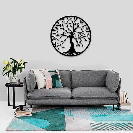 Quadro Decorativo Mandala Árvore 45 Cm