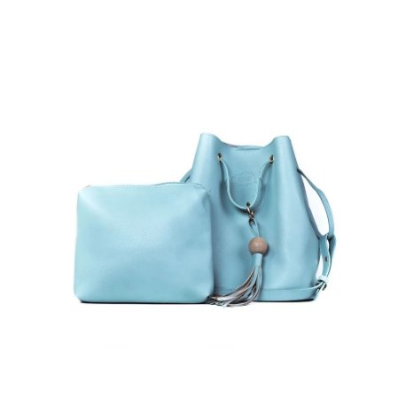 Bolsa Feminina Bucket Jovem Azul Bebê