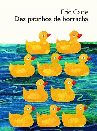 DEZ PATINHOS DE BORRACHA