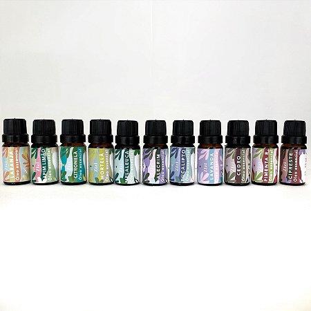 Kit Coleção Zizi com 11 óleos essencias