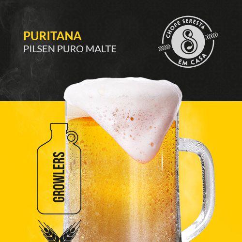 Chopp Growler Puritana Pilsen Puro Malte