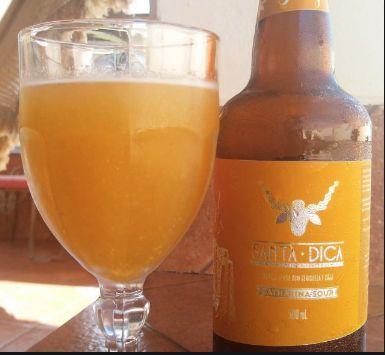 Cerveja Santa Dica Catharina Sour com Cajá e Seriguela 600ml
