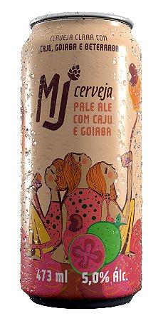MJ Pale Ale Caju e Goiaba Lata 473 ml