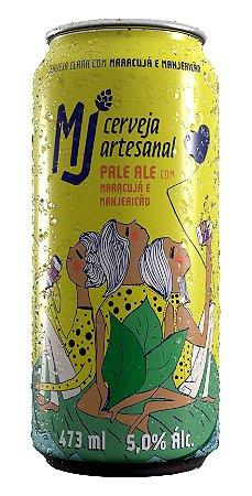 MJ Pale Ale Maracujá e Manjericão Lata 473 ml