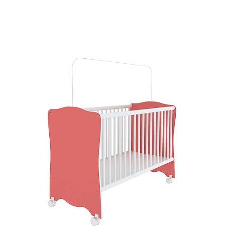 Berço Baby Estrela (Colchão 60x130) - Rosa