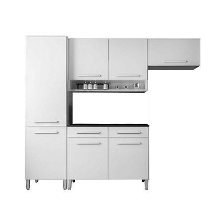 Cozinha Modulada Compacta 4 Peças - Branco