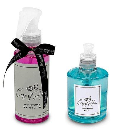 Kit - Água Perfumada Vanilla + Sabonete Líquido Baby